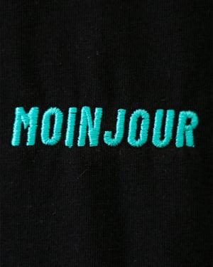 "Image of Shirt ""Moinjour"" – Schwarz"