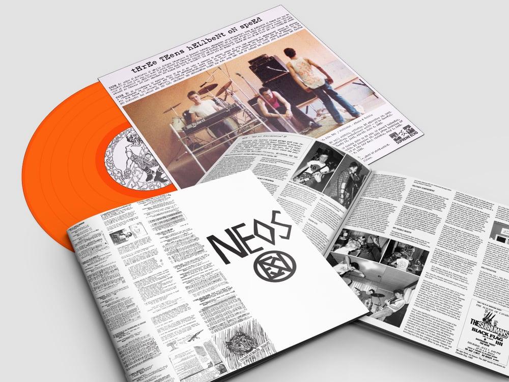 "NEOS - ""Three Teens Hellbent on Speed: 1981-83"" LP (PRE-ORDER)"