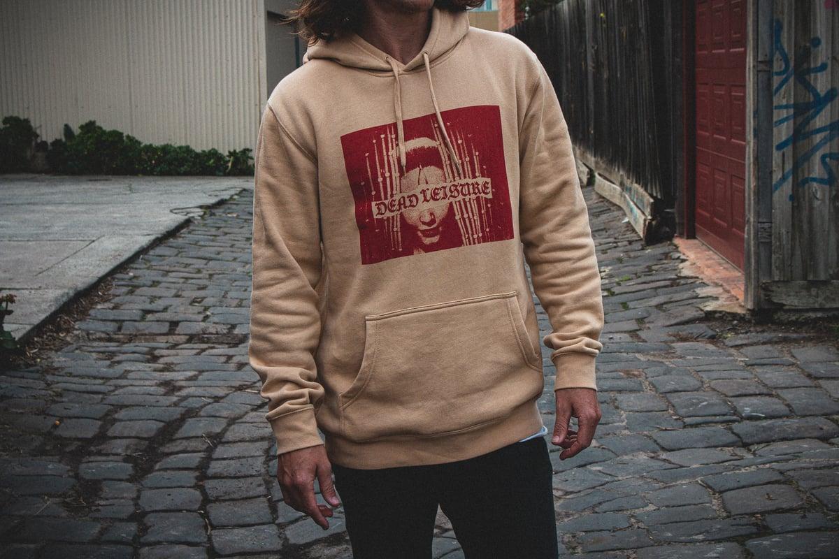 Strange Vision Pullover Hood - Tan