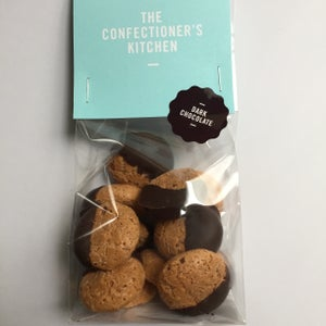 Image of Amaretto Biscuits in Dark Chocolate