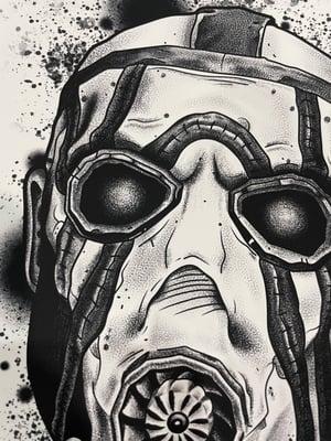 Image of Borderlands Psycho Print