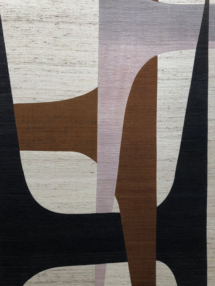 Image of abstract silk composition (HHH)
