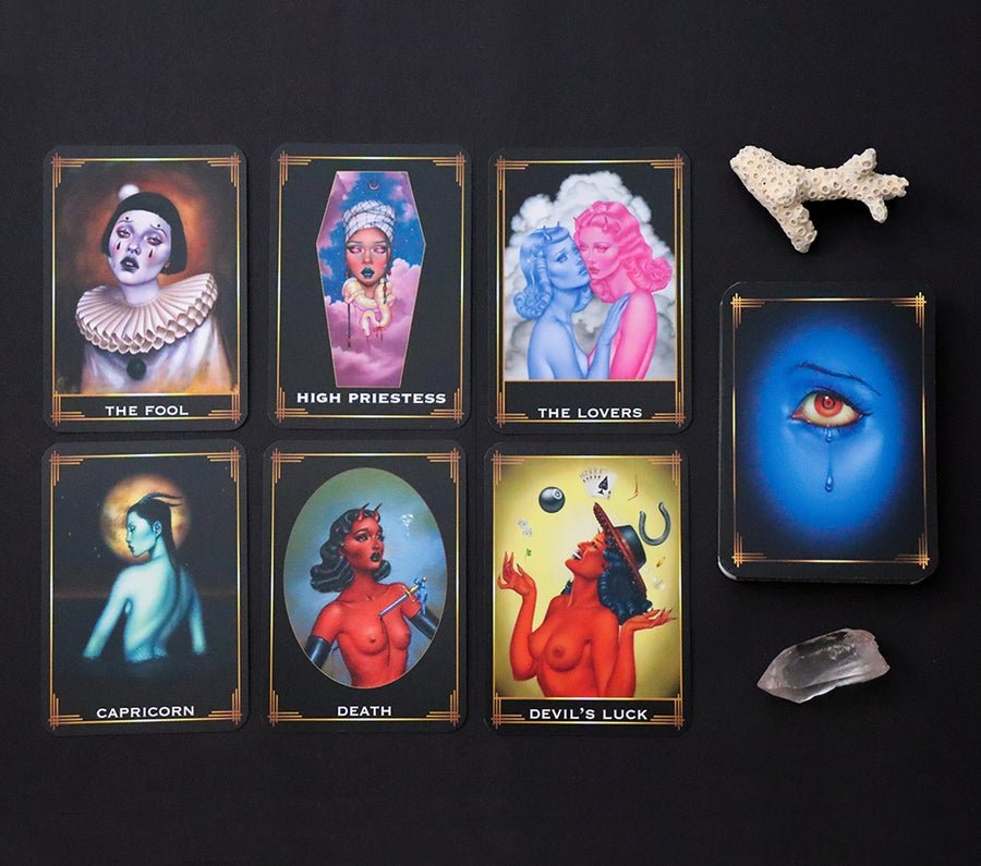 Image of Summer Solstice 2021 edition Oracle Deck