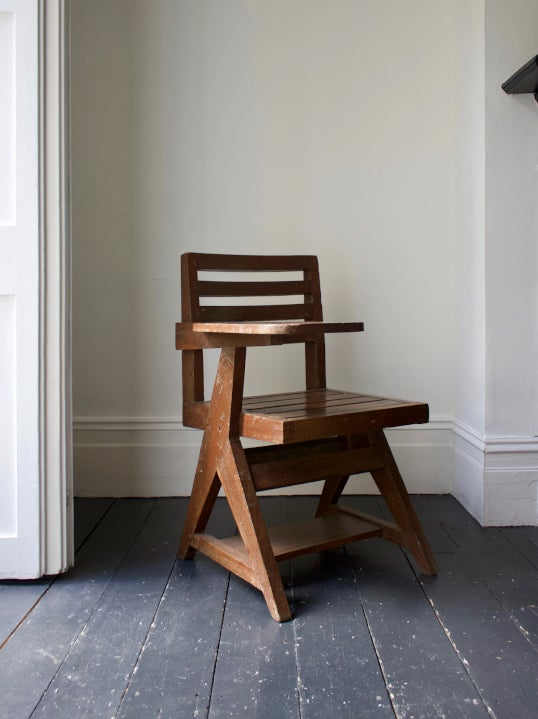 Image of Paddle Arm Chair by Pierre Jeanneret, 1950s