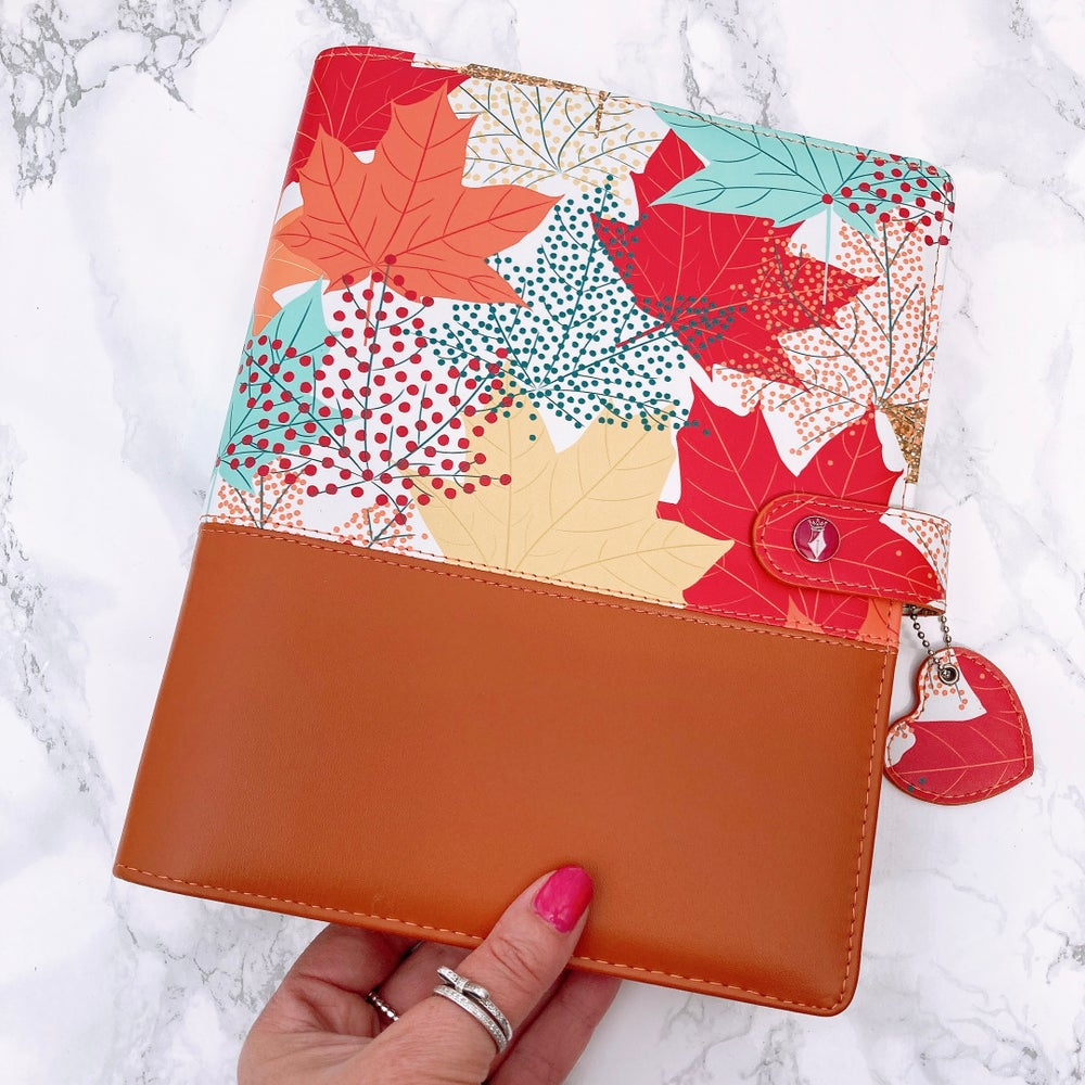 Image of GRANDE PLANNER AUTUMN LEAVES TWO TONE TAN