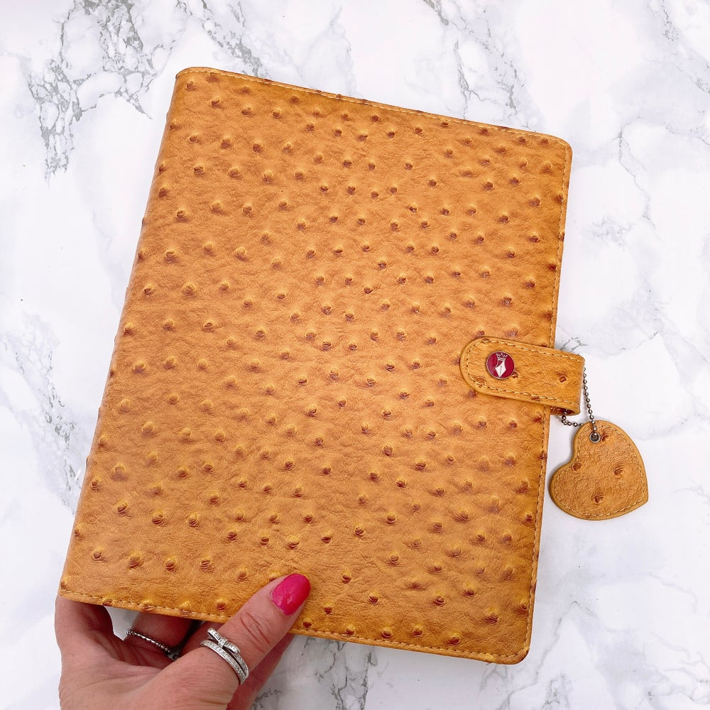 Image of GRANDE PLANNER - HOLLY HONEYCOMB OSTRICH
