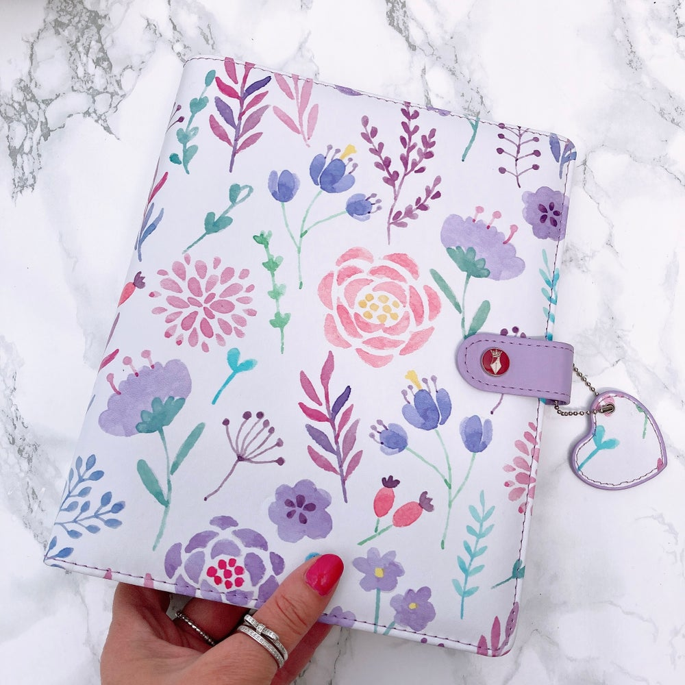 Image of GRANDE PLANNER - LUCY LILAC FLORAL