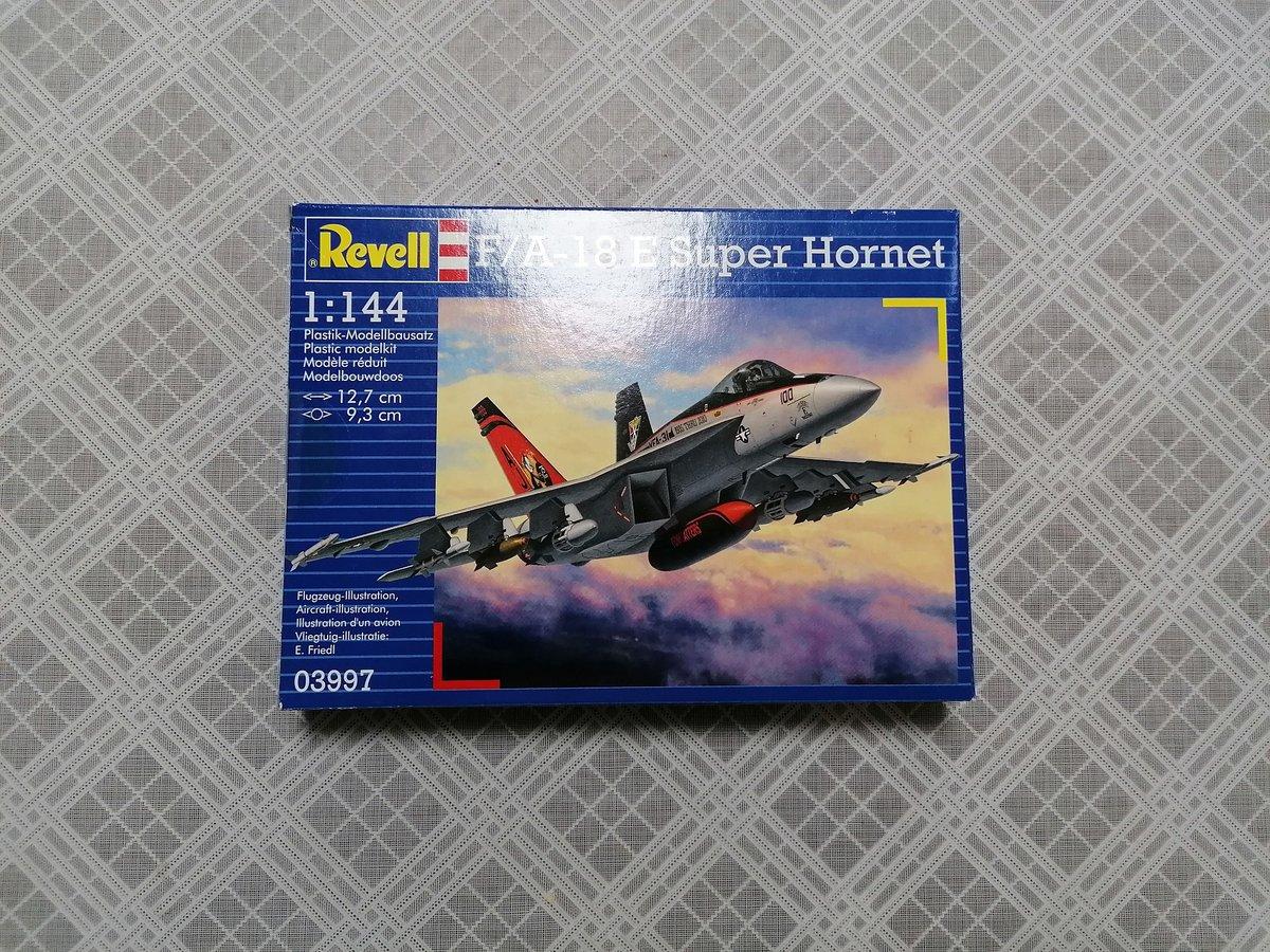 Image of REVELL 1/144 F/A-18 SUPER HORNET 03997