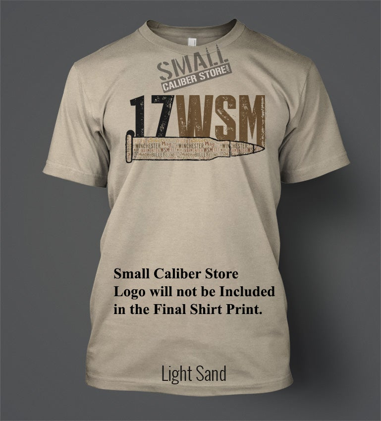 Image of .17WSM T-Shirt - Word Cloud Front Print Brown