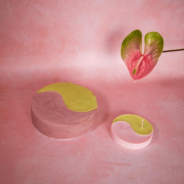 Image of Yin Yang Balance Cake