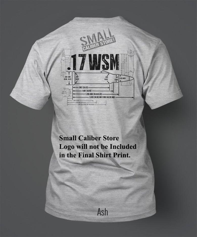 Image of .17WSM T-Shirt - Front/Back Print