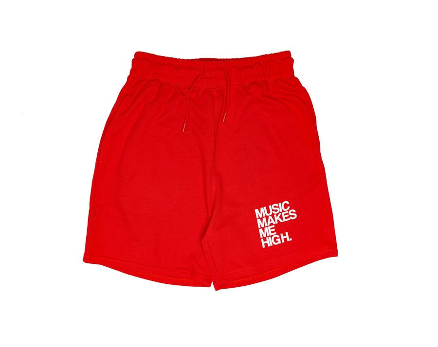 Image of MMMH French Terry Shorts * RED (unisex)