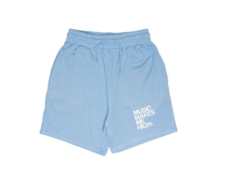 Image of MMMH French Terry Shorts * SKY BLUE (unisex)