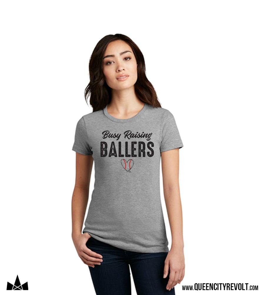 Image of Busy Raising Ballers, Women's Tee
