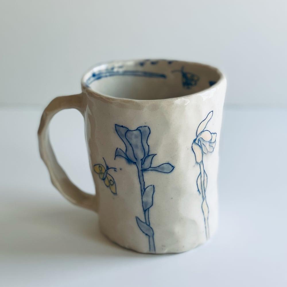 Image of Ghost Pipe and Moon Mug