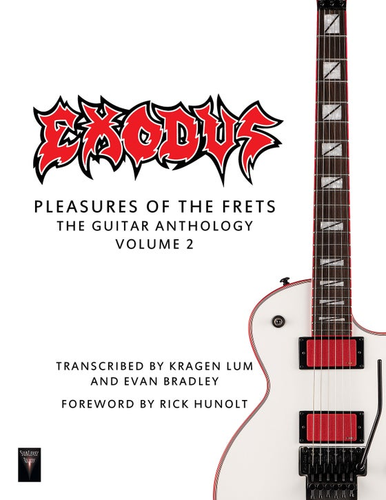 Image of Exodus - Pleasures Of The Frets: The Guitar Anthology Volume 2 (Deluxe Print Edition + Digital Copy)