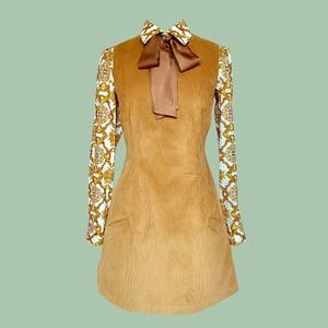 Image of The Cordvette V Neck Dress