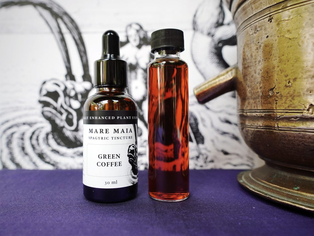 Image of GREEN COFFEE spagyric tincture - alchemically enhanced plant extraction
