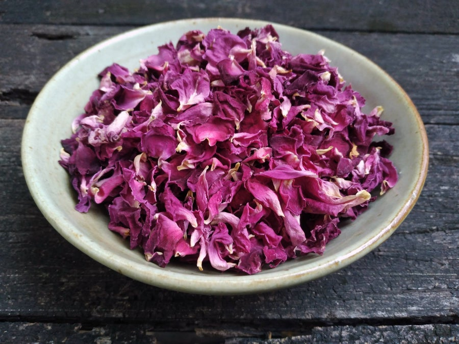 Image of ROSE spagyric tincture - alchemically enhanced plant extraction