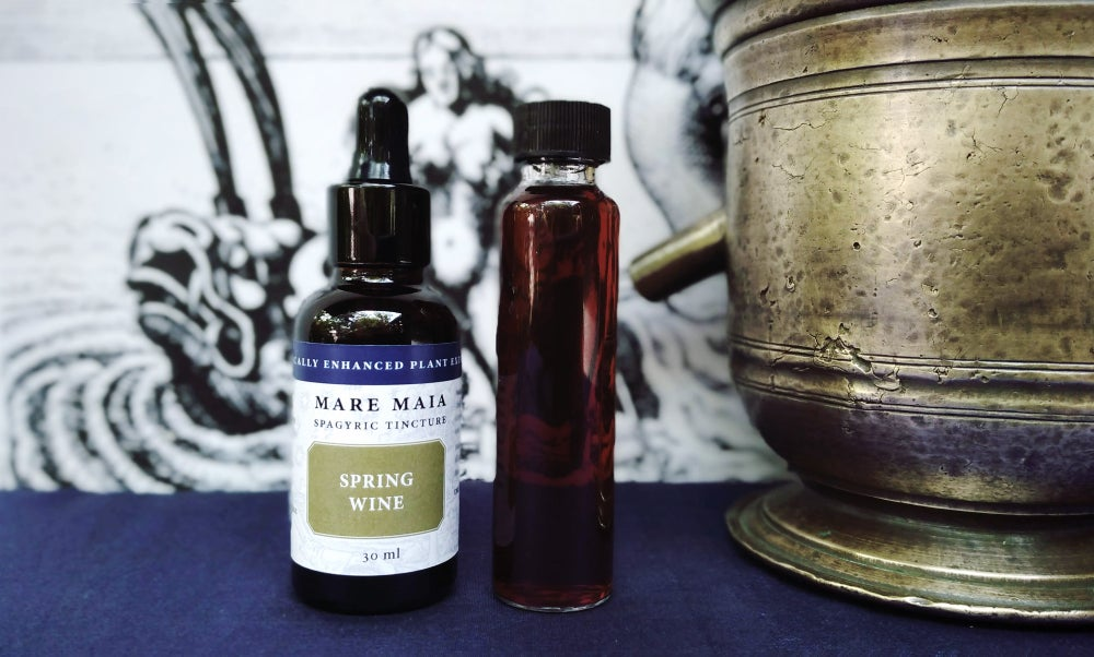 Image of SPRING WINE SPAGYRIC
