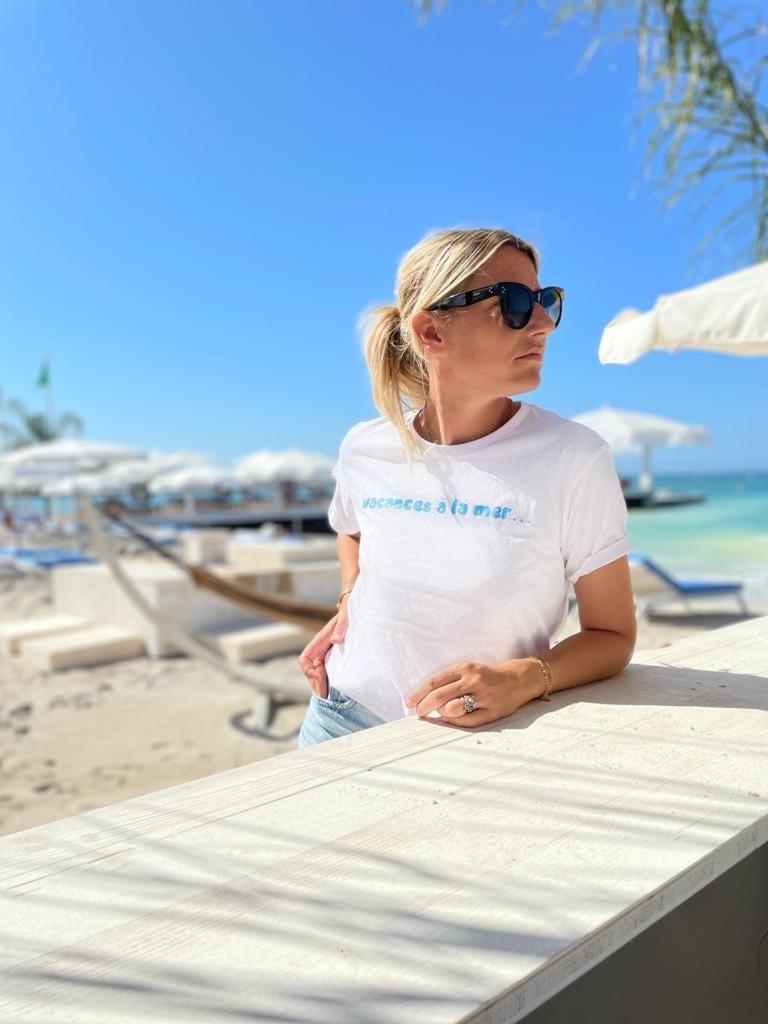 Image of Tee shirt Vacances à la mer