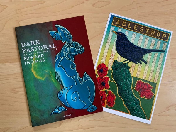Image of DARK PASTORAL : the wounded poetry of Edward Thomas : Limited Edition