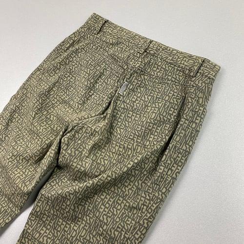 "Image of SS 1999 Women's Fendi monogram trousers, size 26"" x 30"" - UK 6 - 8"