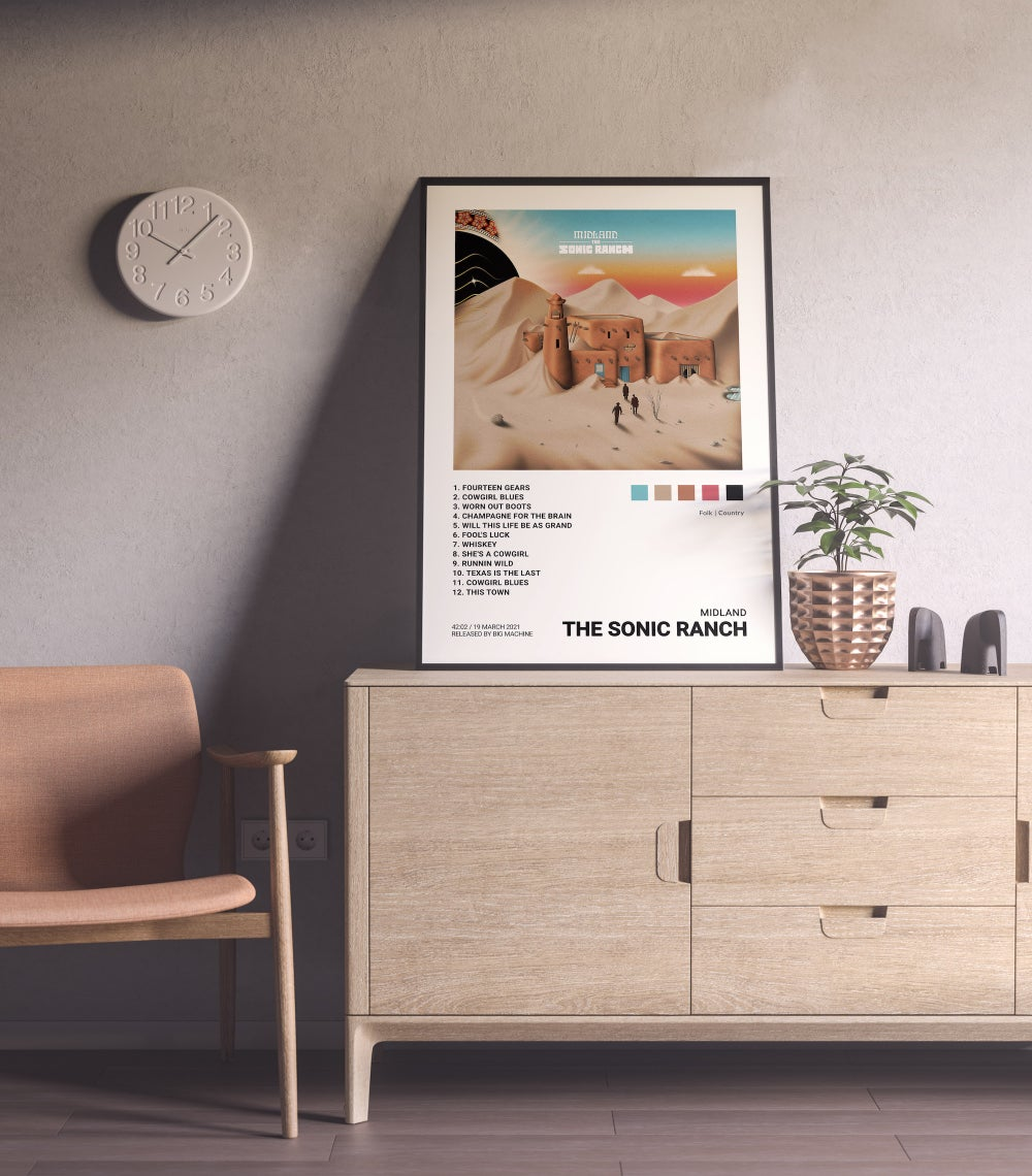 Midland - The Sonic Ranch, Documentary (Album) Cover Poster