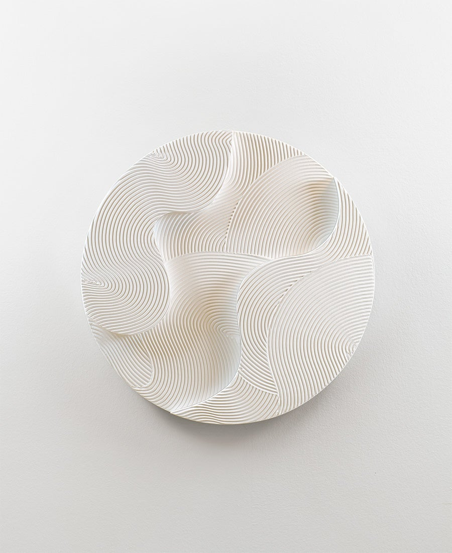 Image of White Sphere · Relief No. 4 (sold)