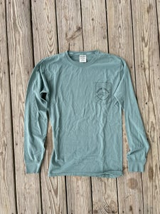 Image of NEW // Simple Logo Long Sleeve - Green