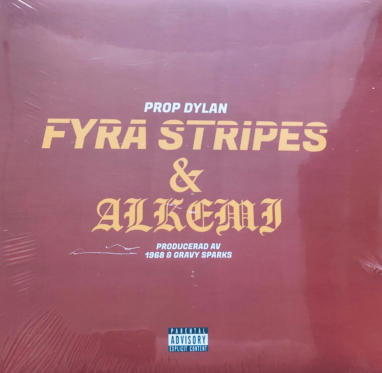Image of Prop Dylan - Fyra Stripes and Alkemi (Gold Vinyl)