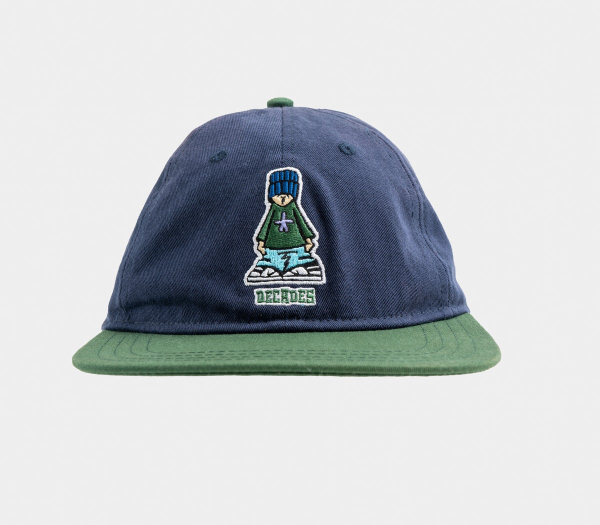 Image of Kid 6 Panel Navy/Forest