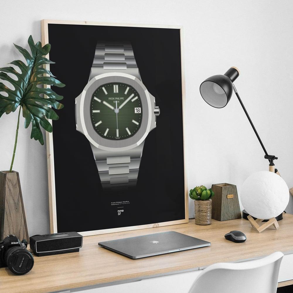 Image of Patek Philippe Nautilus 5711 - Green dial