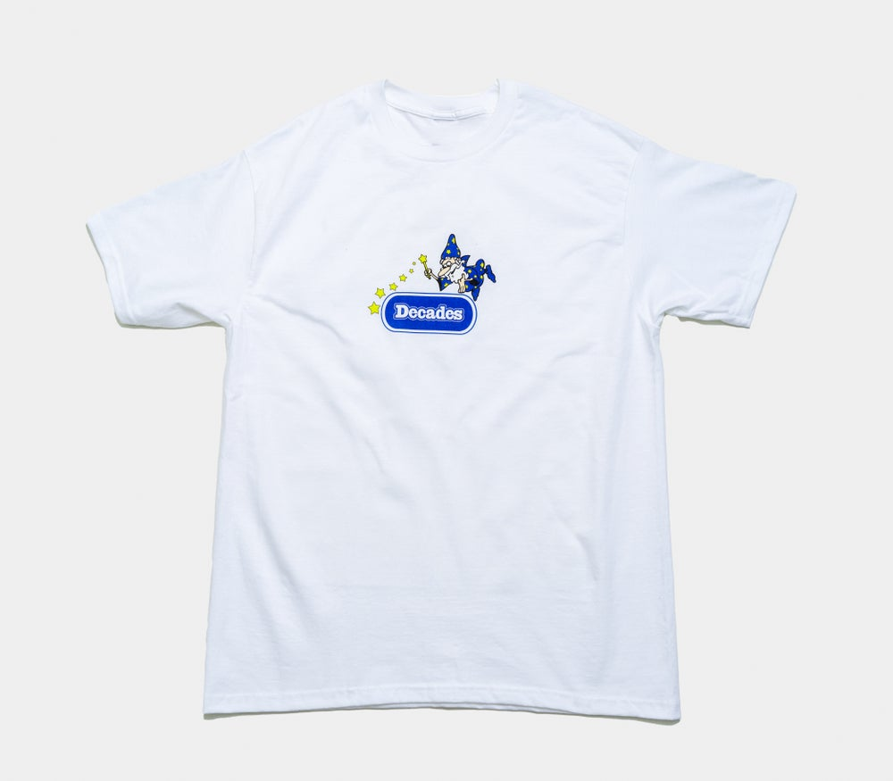 Image of The Wiz Tee white