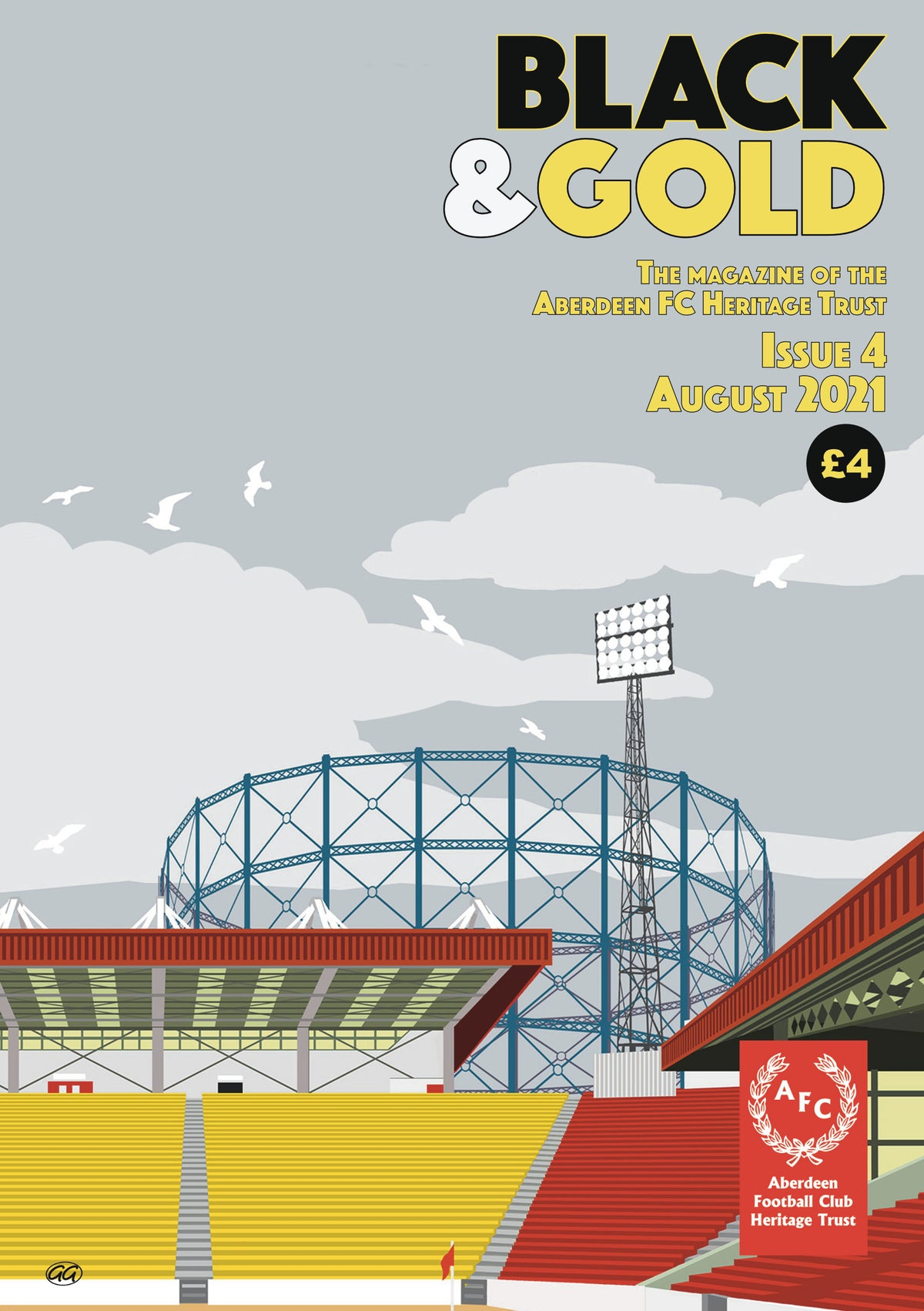 Image of Black & Gold - Issue 4