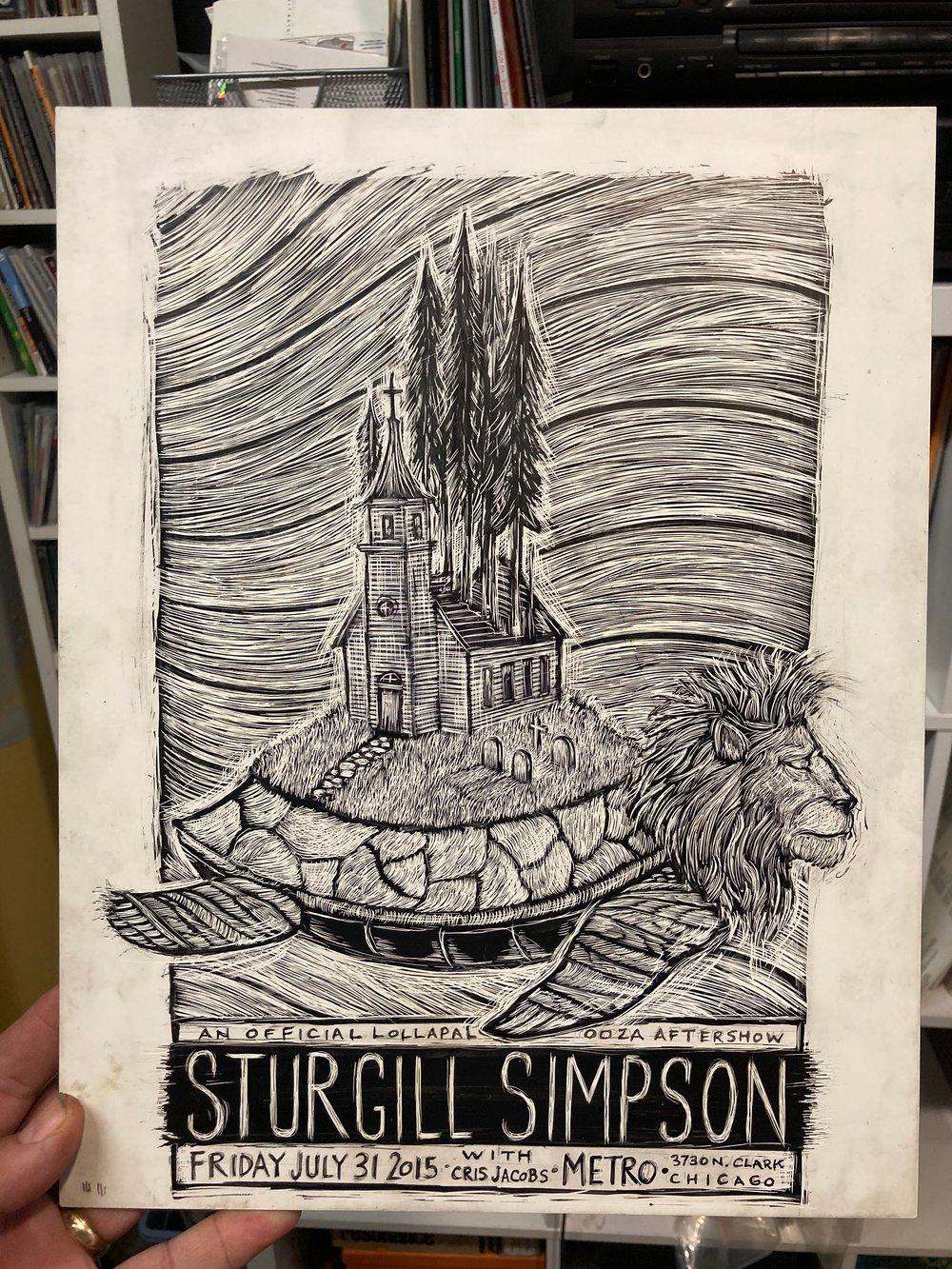 Sturgill Simpson Original Artwork