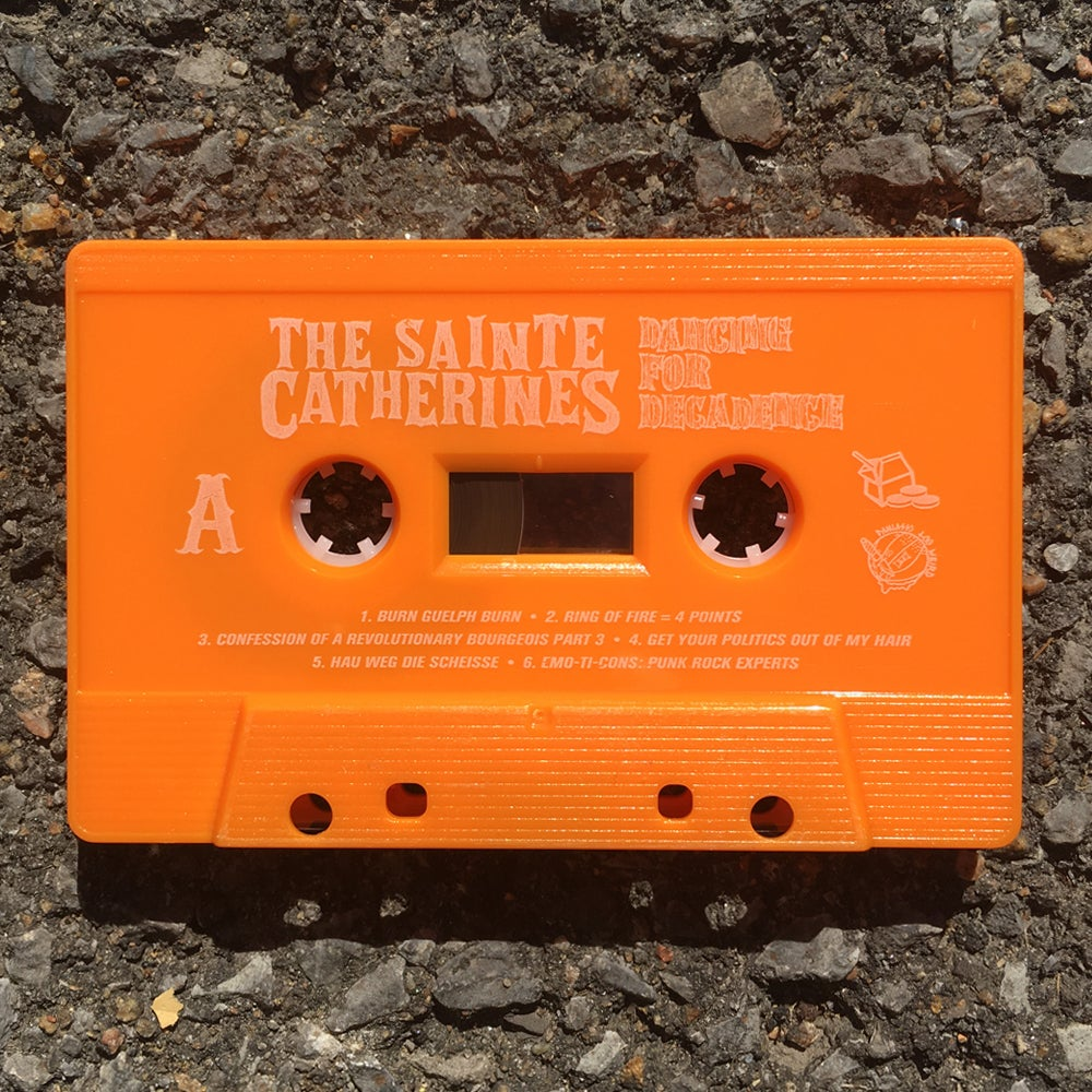 The Sainte Catherines - Dancing For Decadence (cassette)
