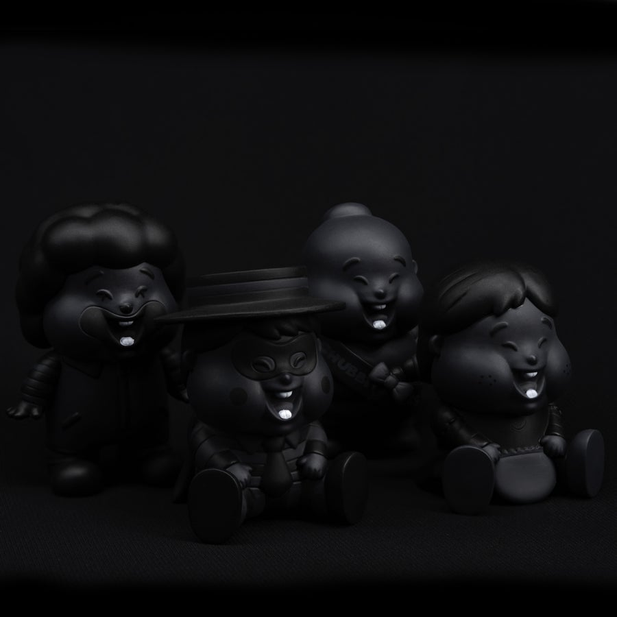 Image of CHUBBI CHEEKS 'UNBOX IN BLACK' SPECIAL EDITION