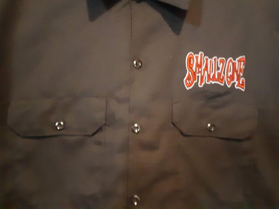 Image of SMALLZ ONE :  PROCESS OF ELIMINATION  DICKIES BUTTON UP