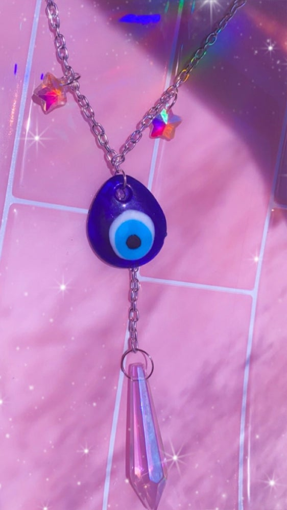 Image of evil eye necklaces
