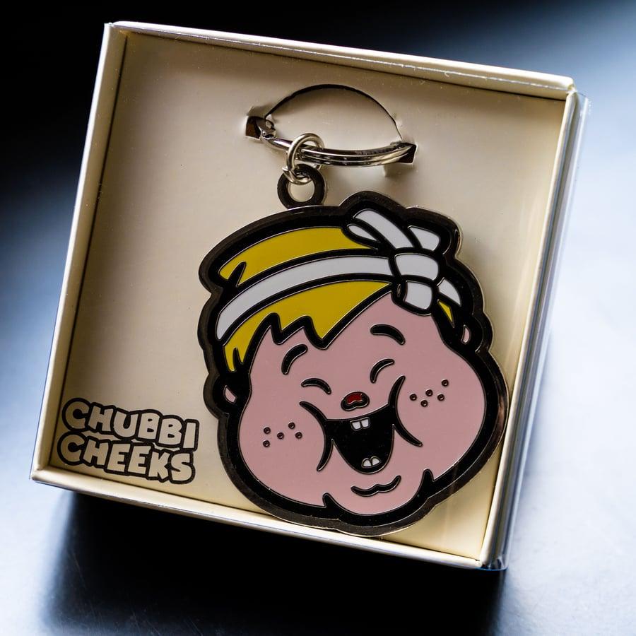 Image of CHUBBI CHEEKS KEYCHAIN SERIES 'YO YO'