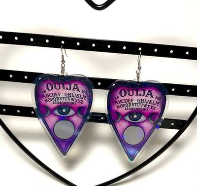 Image of Pink Ouija Earrings