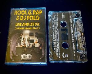 """Image of Kool G Rap """"Live and let Die"""""""