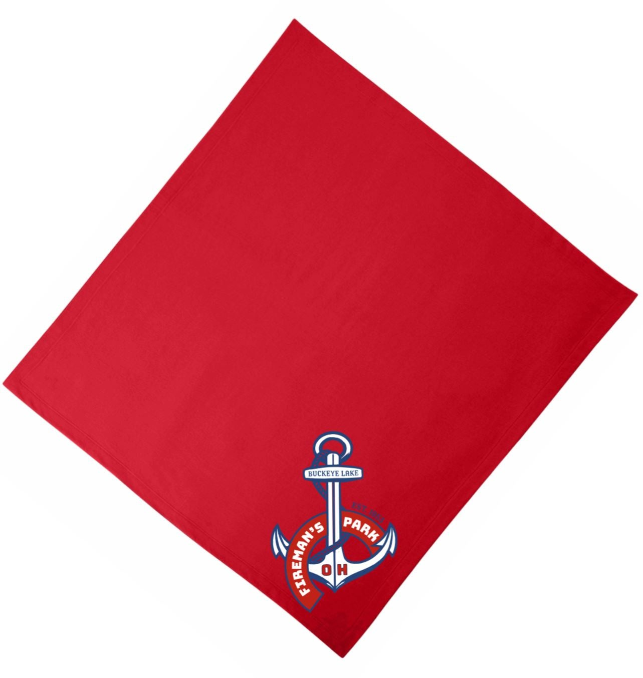 Image of Fleece Blanket Anchor Design