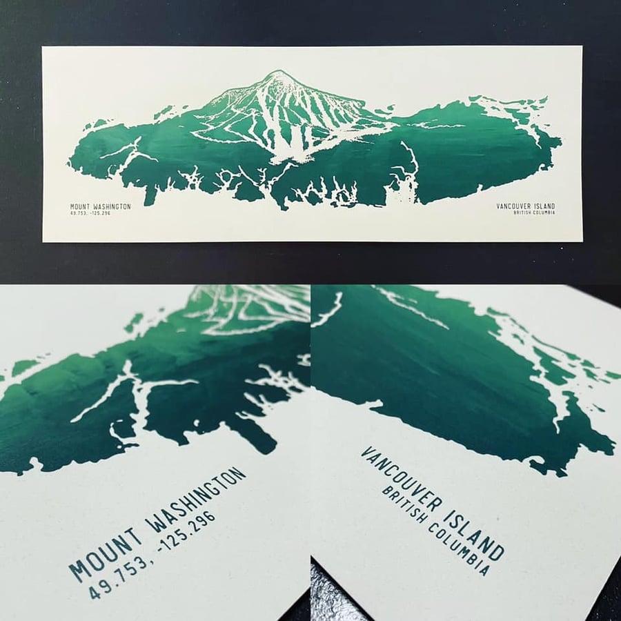 Image of Mount Washington Art Print