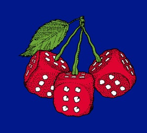 Image of Cherry Baby woven blanket