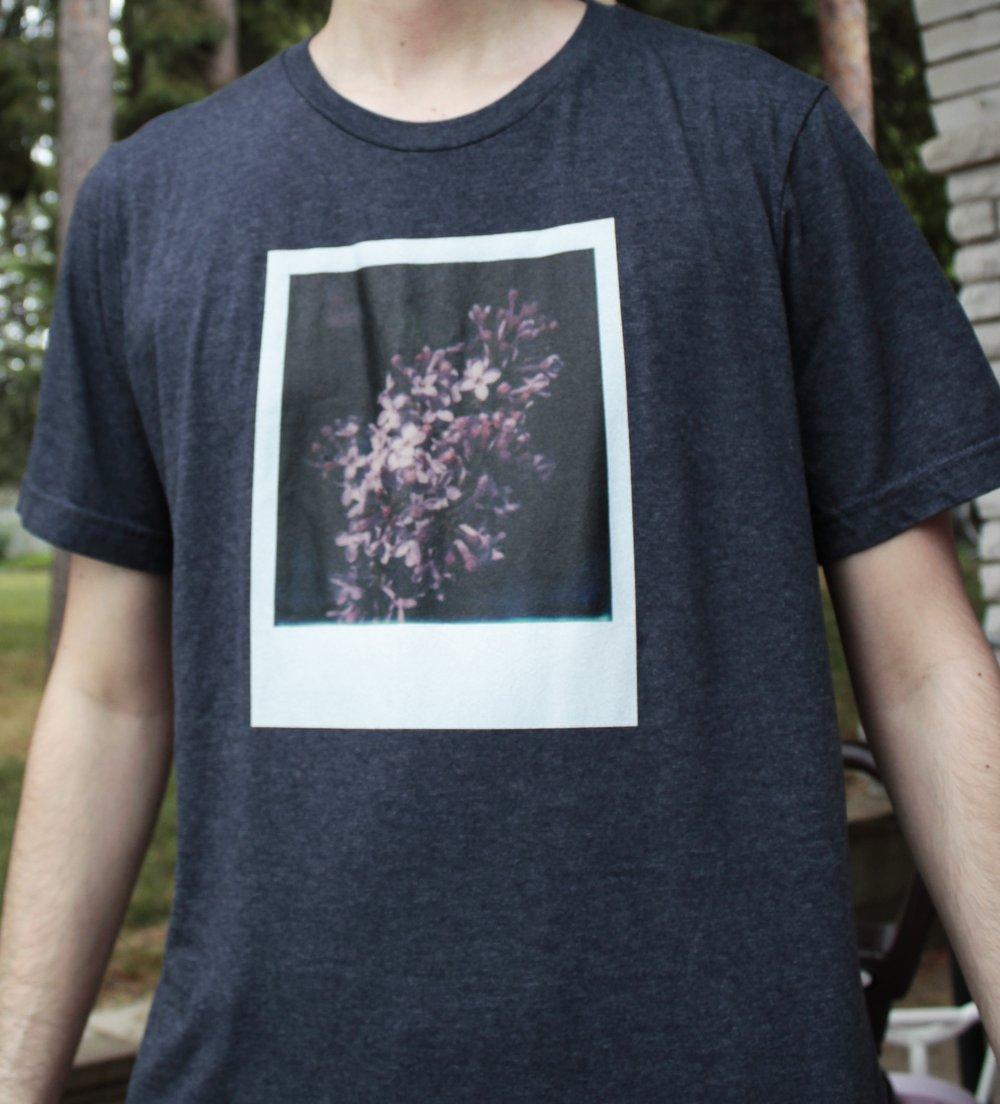 Photo shirt - Lilacs