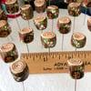 tree stump decorative sewing pin - pincushion topper