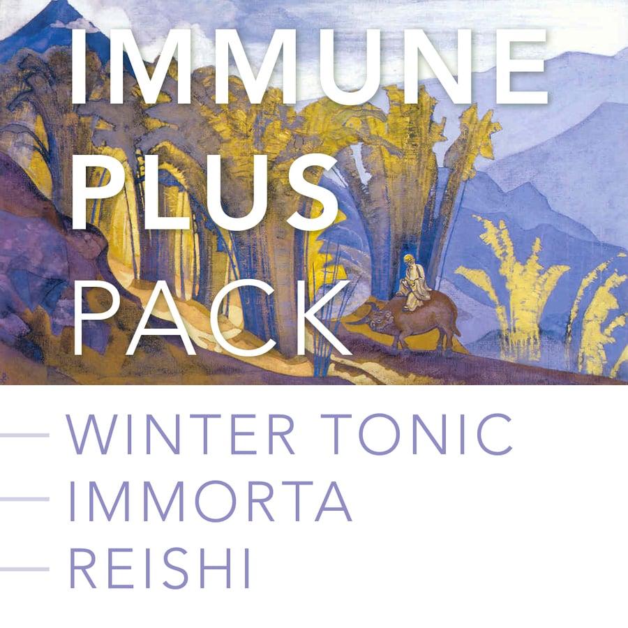 Image of IMMUNE PLUS PACK: Winter Tonic, Immorta Lung Formula and Reishi Mushroom