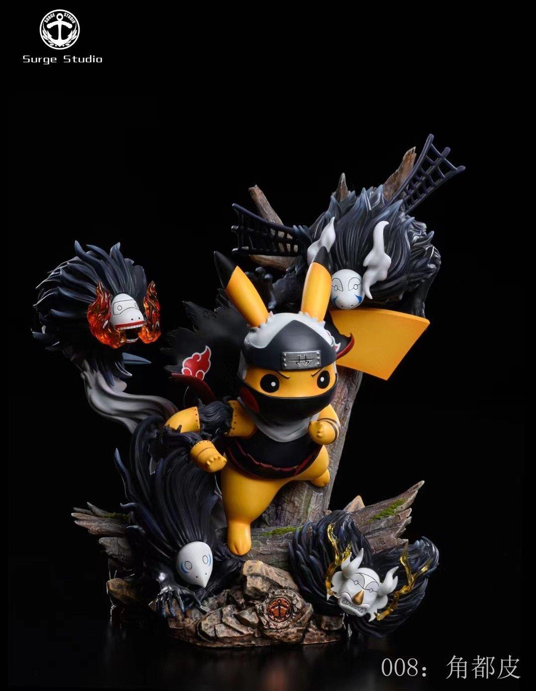Image of  [Pre-Order]Surge Studio Pikachu Cross Kakuzu Resin Statue